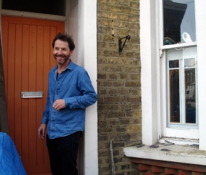Rufus Knight Webb entering Lesley Hilling's house in Brixton