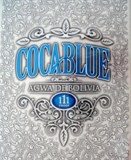 Agwa de Bolivia Coca Blue