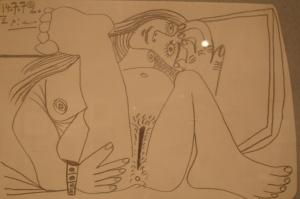 NU COUCHÉ by Pablo Picasso