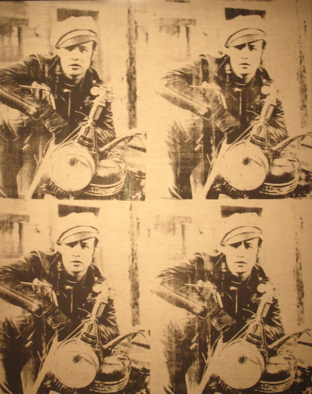 Four Marlons by Andy Warhol