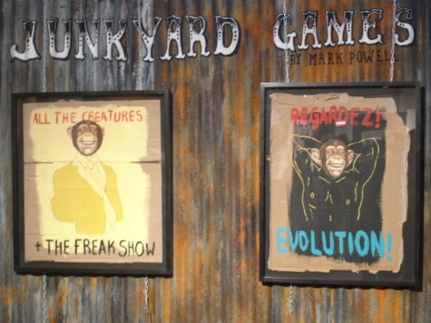Hang-up Gallery presents Junkyard Games featuring Mark Powell.
