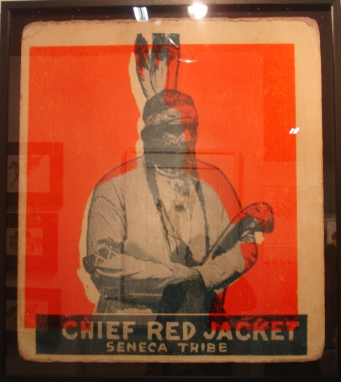 Chief Red Jacket by Gavin Mitchell at Northcote Gallery