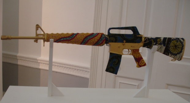 Bad Gold by Yinka Shonibare